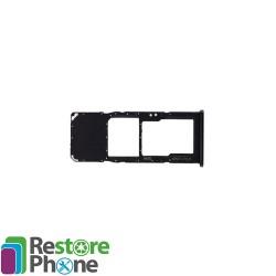 Tiroir SIM + micro SD Galaxy A70 (A705)