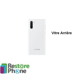 Reparation Vitre Arriere Galaxy Note 10 (N970)