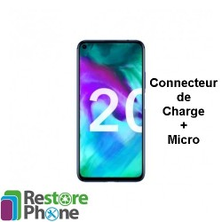 Reparation Connecteur de Charge + Micro Honor 20