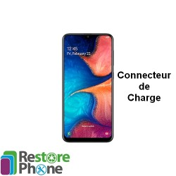 Reparation Connecteur de Charge Galaxy A20 (A205)