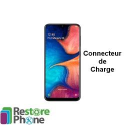 Reparation Connecteur de Charge Galaxy A20 (A205)
