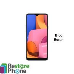 Reparation Bloc Ecran Galaxy A20S (a207)