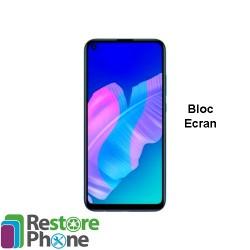 Reparation bloc ecran avec chassis Huawei P40 Lite E