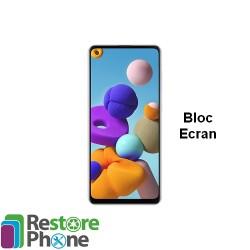 Reparation Bloc Ecran Galaxy A21S (a217)