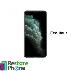 Reparation ecouteur interne iPhone 11 Pro Max