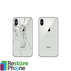 Reparation Vitre Arriere iPhone série 8 / série X