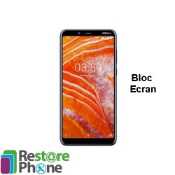 Reparation Bloc Ecran Nokia 3.1 Plus