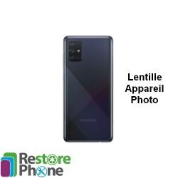 Reparation Lentille Appareil Photo Galaxy A71 (A715)