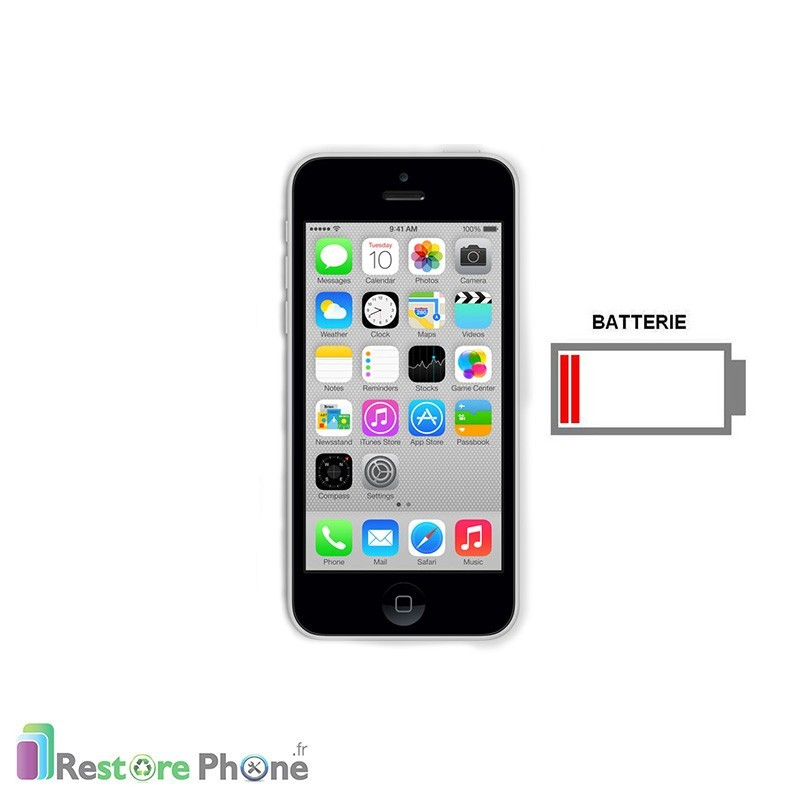 r paration batterie iphone 5c restore phone. Black Bedroom Furniture Sets. Home Design Ideas