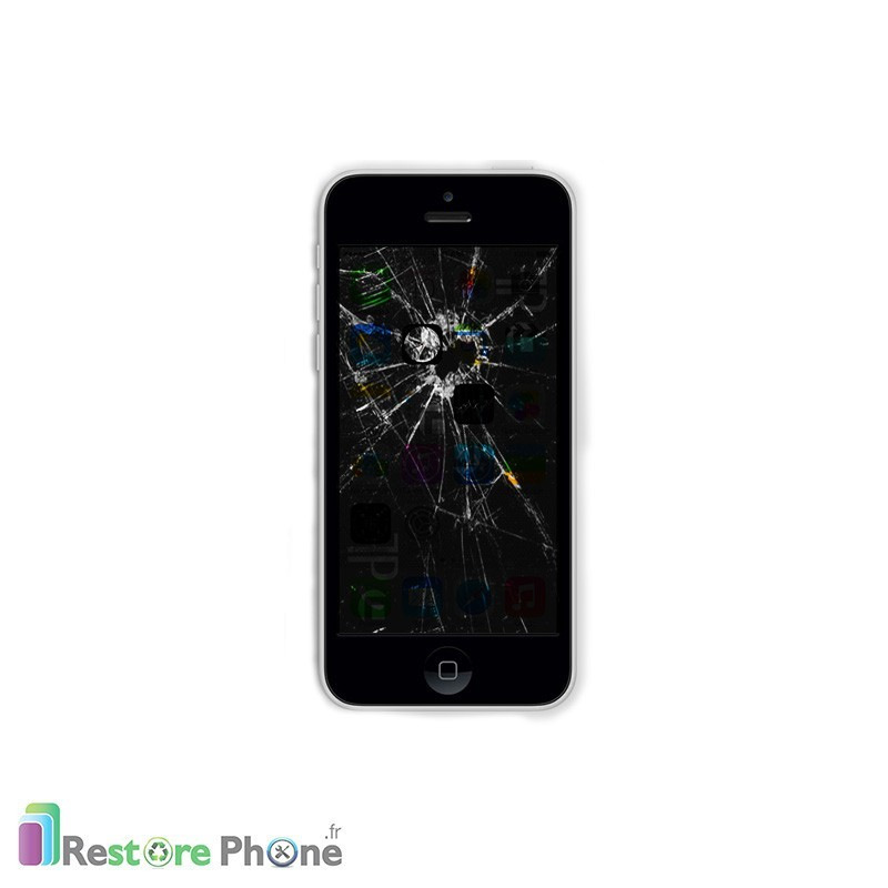 R paration bloc ecran iphone 5c restore phone for Photo ecran iphone 5c