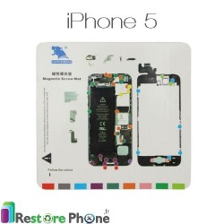 Patron Magnetique de demontage iPhone 5