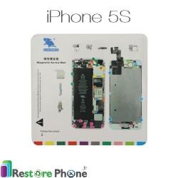 Patron Magnetique de demontage iPhone 5S