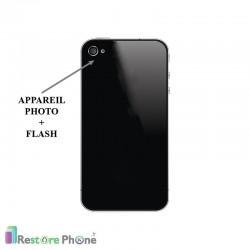 Réparation Appareil Photo + Flash Iphone 4