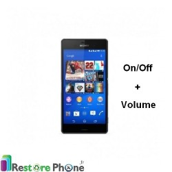 Reparation Bouton On/Off +Volume Xperia Z3 Compact