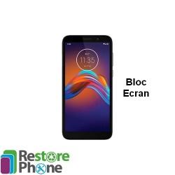 Reparation Bloc Ecran Moto E6 Play