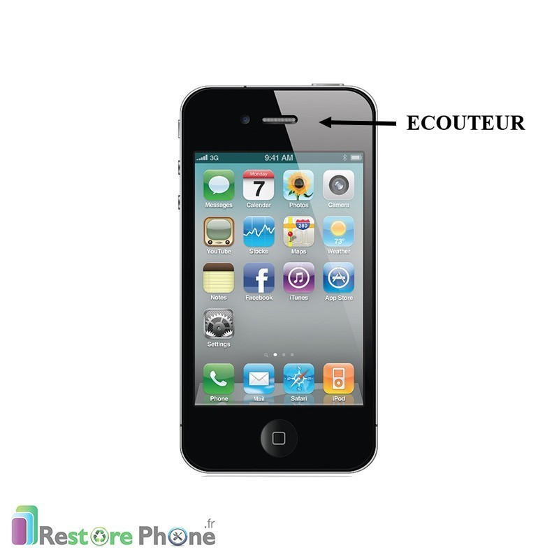 r paration ecouteur iphone 4s restore phone. Black Bedroom Furniture Sets. Home Design Ideas