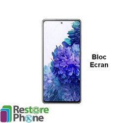 Reparation Bloc Ecran Galaxy S20 FE (G780)