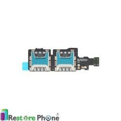 Lecteur Carte Sim et SD Galaxy S5 Mini (G800F)