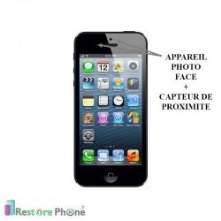 Réparation Appareil Photo Face + Capteur de Proximité iPhone 5