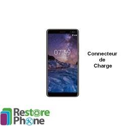 Reparation Connecteur de charge Nokia 7 Plus