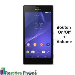 Reparation Bouton On/Off + Volume Xperia T3