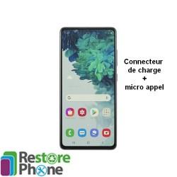 Reparation Connecteur de Charge Galaxy S20 fe