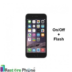Reparation Bouton On/Off + Flash iPhone 6S Plus