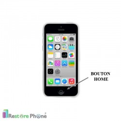 Réparation Bouton Home iPhone 5C