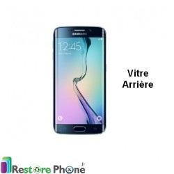 Reparation Vitre Arriere Galaxy S6 Edge