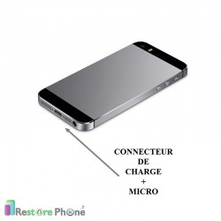 Réparation Connecteur de Charge + Micro iPhone 5S