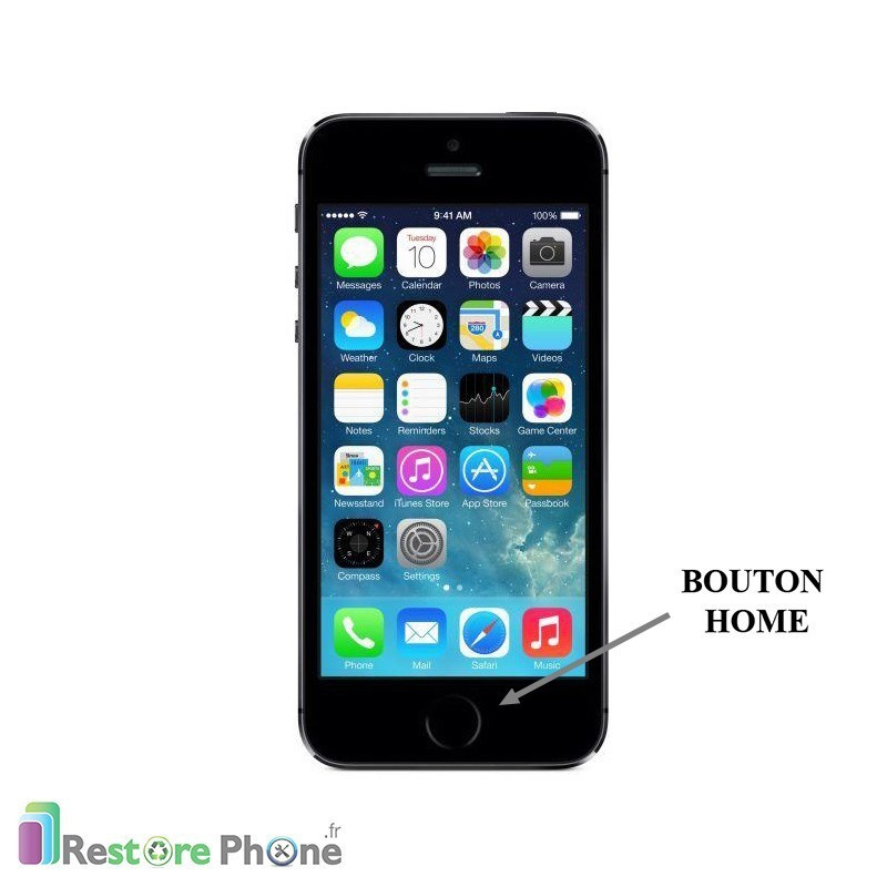 Reparation Iphone  Bouton Home