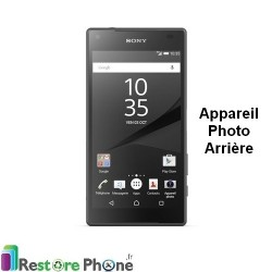 Reparation Camera Arriere Sony Xperia Z5 Compact