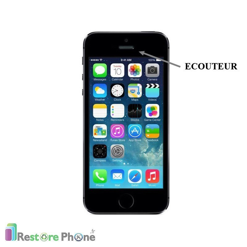 r paration ecouteur iphone 5s se restore phone. Black Bedroom Furniture Sets. Home Design Ideas