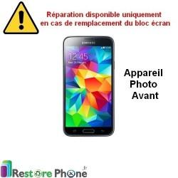 Reparation Camera Avant Galaxy S5