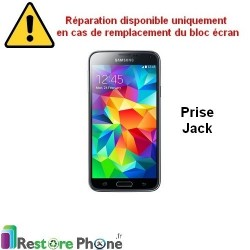 Reparation Prise Jack Galaxy S5