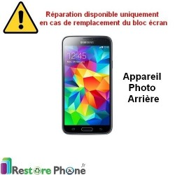 Reparation Camera Arriere Galaxy S5 Mini