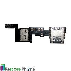 Nappe Lecteur Carte Sim et SD Galaxy Note 4 (N910)