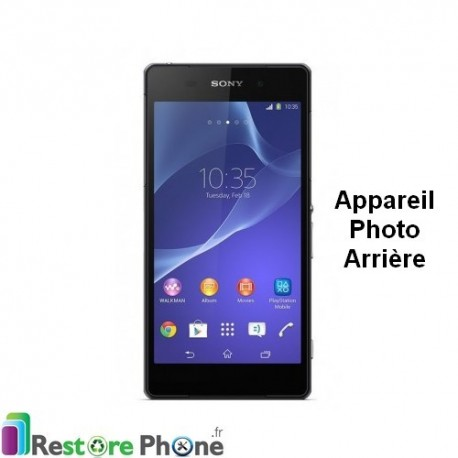 Reparation Appareil Photo Arriere Xperia Z2 Restore Phone