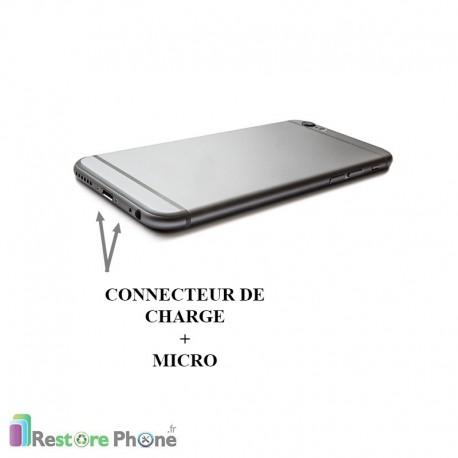 r paration connecteur de charge micro jack iphone 6 plus restore phone. Black Bedroom Furniture Sets. Home Design Ideas