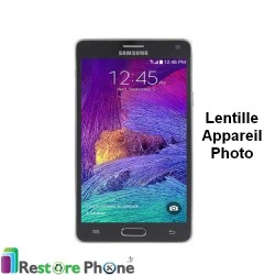 Reparation Lentille Arriere Appareil Photo Galaxy Note 4