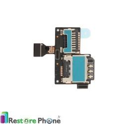 Lecteur Carte Sim et SD Galaxy S4 Mini (i9195)