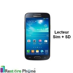 Reparation Lecteur carte sim et SD Galaxy S4 Mini