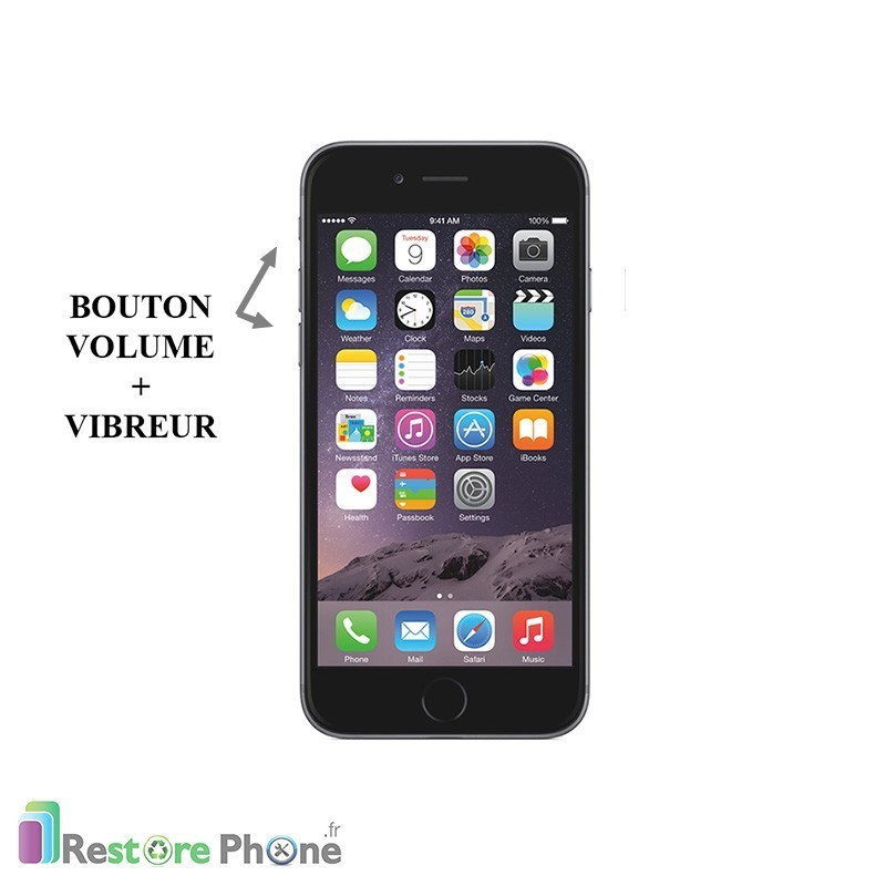 Reparation Bouton Volume Iphone