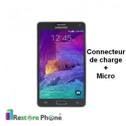 Reparation Connecteur de Charge + Micro Galaxy Note 4