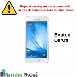 Reparation Bouton On/Off Galaxy A3