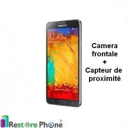 Reparation Appareil Photo Frontal + capteur de proximite Galaxy Note 3