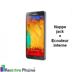 Reparation Prise Jack + Ecouteur Interne Galaxy Note 3