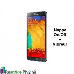 Reparation Nappe On/Off + Vibreur Galaxy Note 3 Lite