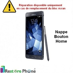 Reparation Bouton Home Galaxy Note 4