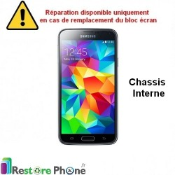Reparation Chassis Interne Galaxy S5
